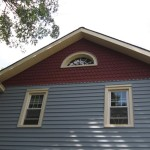Finished Job Siding with Trim