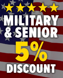Military and Senior Discount for South Jersey Veterans